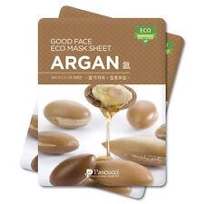 Korean Essence Eco Mask Sheet ARGAN Moisture Skin Care Facial Pack 6 PCS