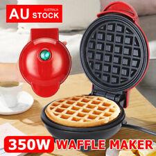 AU Waffle Maker Cookware Non Stick Snacks Pancake Cake Breakfast Making Machine