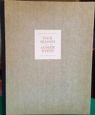 FOUR SEASONS 11 of 12 Loose-prin Portfolio by Andrew Wyeth 1962/63 Original Case