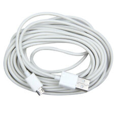 5M Micro USB Charging Charger Data Cable Adapter Cord for Android Samsung White
