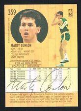 Marty Conlon #359 signed autograph auto 1991-92 Fleer Basketball Trading Card