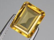 Natural Citrine Octagon Loose Gemstone VVS 9x7mm 2.33ct