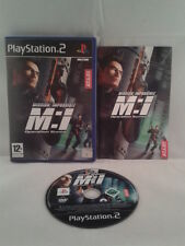 JUEGO PS2 MISSION IMPOSSIBLE OPERATION SURMA PLAY STATION 2 PAL