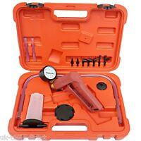 Hand Held Brake Bleeder Tester Set Bleed Kit Vacuum Pump Car & Motorbike