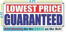 LOWEST PRICE GUARNTEED Banner Sign NEW XXL Size Best Quality for the $$$$ RW&B