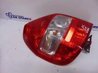 Honda Jazz 02-07 Passengers Left Rear Light back brake + bulb holder