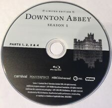 Downton Abbey Season 1 Pt. 1-4 Replacement Blu-ray Disc Excellent Condition