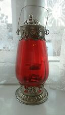 Vintage Moroccan Garden Lantern Candle Holder Indoor Outdoor UK
