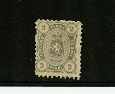 Finland #17 (Fi728) Perf 11, coat of arms, 2p gray issue, M, H, Fvf, Cv$62.50