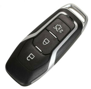 3 BUTTON SMART KEY FOB CASE SHELL FOR FORD EDGE MONDEO S-MAX GALAXY MUSTANG