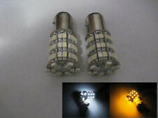 New BAY15D 1157 60 SMD White Amber LED Light Bulb for Car Signal Foglight