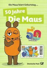 Deutsche Post Erinnerungsblatt 2/2021 - 50. Jahre Die Sendung mit der Maus