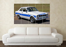 Large Ford Escort Mk1 RS2000 Mexico Rally Car Wall Poster Art Picture Print