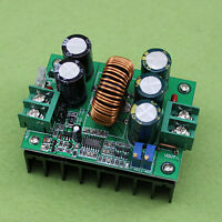 New 1200W 20A CC/CV Boost Converter DC 8V-60V to 12V-80V Step-up Power supply