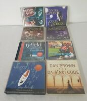 Collection, Bundle Of 8 Audiobooks, James Herbert, Life Of Pi, The Da vinci Code