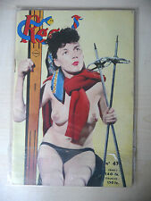 """RIVISTA MENSILE PIN UP FRANCESE 1953 n° 43 """"REGAL"""" - A7"""