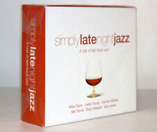 SIMPLY LATE NIGH JAZZ [MILES DAVIS, LESTER YOUNG, BOB JAMES...] [4CD SET 2008]