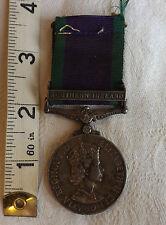 An Original Military Elizabeth II General Service Medal Northern Ireland (1143)