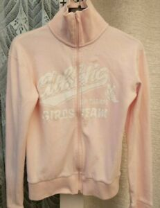 ( Ref 5765 ) MIX - Size 12 - Ladies Pink Long Sleeve Zipped Jacket / Top