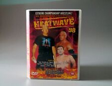 ECW Heat Wave 98 Wrestling DVD Dudley Boyz Rob Van Dam WWE WWF WCW AEW