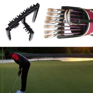 Golf 9 Iron Club ABS Shafts Holder Stacker Fits Any Size of Bags Organizer