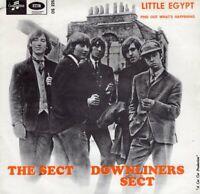 "DOWNLINERS SECT ~ Little Egypt ~ 1964 Swedish Columbia 2-trk 7"" vinyl single~p/s"