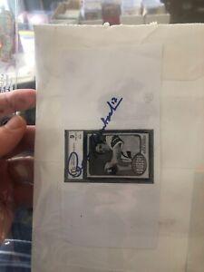 ROGER STAUBACH AUTOGRAPHED Picture CARD HOF DALLAS COWBOYS InvC
