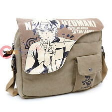 Naruto Uzumaki Canvas Messenger Bag Body Cross Bag Canvas Anime Cosplay Bag