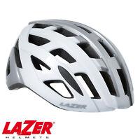 LAZER TONIC MTB MOUNTAIN BIKE CYCLING ROAD HELMET - WHITE TITANIUM