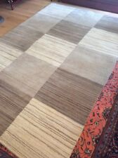 SIMPLY NATURAL, 9' x 6', EXTRA LARGE, BRAND NEW, NEW ZEALAND WOOL...FREE  DEL.