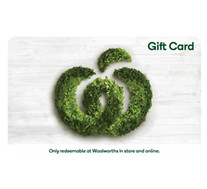 Woolworths Supermarket Gift Card $25, $50, $100, $250 - Email Delivery