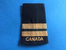 Rare Vintage Canadian Navy Lieutenant Rank Shoulder Epaulets Patch Crest 259