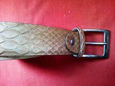 Cintura vera pelle MADE IN ITALY cm 105 (totali) nuova da pelletteria dismessa