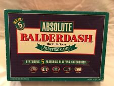 Absolute Balderdash - 2 Players - 10+ - 1993