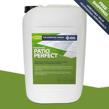 PATIO PERFECT 25L Non-Acid FAST & POWERFUL Natural Stone & Brick Paving Cleaner