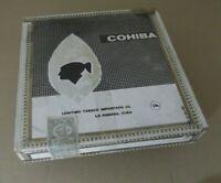 Caja Puros vacía Cohiba 25 lanceros habanos vintage Cigar box madera