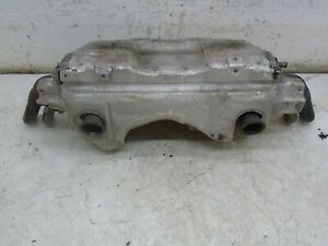 AUDI R8 2008 4.2 V8 EXHAUST BACK BOX SILENCER WITH CATALYST AND VALVES