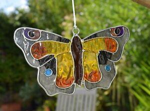 Peacock Butterfly Suncatcher - Window Decoration - Garden Sun Catcher