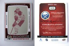 2013-14 UD The Cup SPGU-102 Zemgus Girgensons 1/1 magenta plate rookie RC 1 of 1