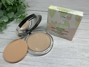 Clinique Stay-Matte Sheer Pressed Powder Oil Free 01 STAY BUFF(VF) New In Box