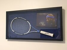 James Blake Sports Memorabilia with Signature Dunlop Aerogel 200 Tennis Racket