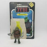 Vintage 1983 Star Wars Gamorrean Guard Action Figure Complete Axe and Cardback