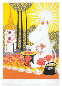 Moomin Poster Moominmamma Tove Jansson 50 x 70 cm