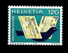 SWITZERLAND - SVIZZERA - Servizio - 1983 - Unione Postale Universale. Att. post.