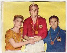 figurina - LAMPO CALCIO Stagione 1961 REC. numero B vincitori OLIMPIADI
