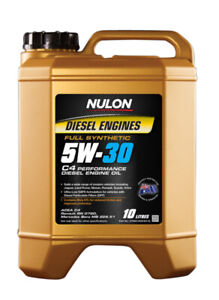 Nulon Full Synthetic Diesel Performance Engine Oil 5W-30 10L fits Citroen DS5...