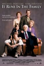 IT RUNS IN THE FAMILY MOVIE POSTER 1 Sided ORIGINAL 27x40 MICHAEL DOUGLAS