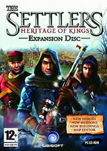 The Settlers Heritage Of Kings Expansion Disc (PC) ~SUPER FAST DISPATCH~