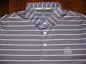 Men's Adult Medium Adidas Erin Hills Golf Course Polo - Excellent Used Condition