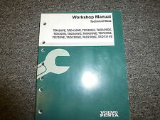Volvo Penta TD TAD 420 520 620 720 721 Engine Shop Service Technical Data Manual